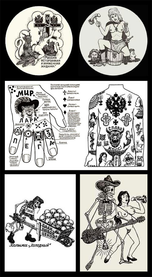 Russian Prison Tattoos and Meanings